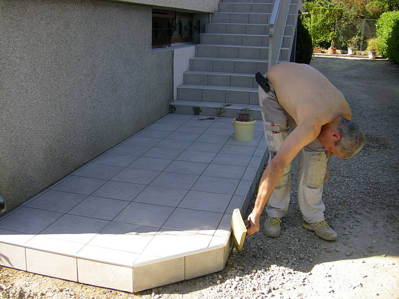 Carrelage baguette de finition Bordure carrelage exterieur